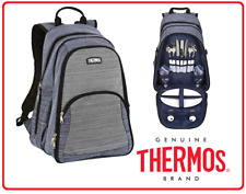 ❤ Thermos 2 Person BACKPACK Insulated Cooler Picnic Cutlery Cooler Camping Set ❤