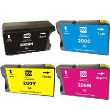 4PK For Lexmark 200 XL Ink Cartridge Set OfficeEdge Pro 4000 5000 5500 5500T