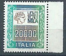 1987 ITALIA ALTO VALORE 20000 LIRE MNH ** - ED