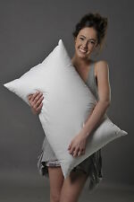 STANDARD FIRM PILLOW 95% WHITE SIBERIAN DUCK DOWN AUSTRALIAN MADE SUPREME QUILTS