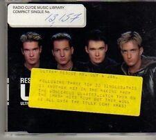 (BO333) Ultra, Rescue Me - 1998 DJ CD