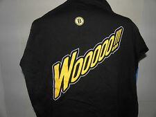 New NHL Boston Bruins 2004 Playoffs Wooooo!!! T-Shirt Size 2XL (NWOT)