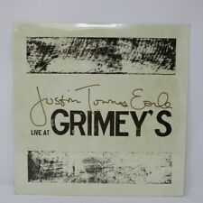 """JUSTIN TOWNES EARLE - LIVE AT GRIMEY'S 2015 (LIMITED) LP 12"""" VINYL"""