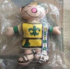 New ListingEndymion Mardi Gras Parade Mascot Doll, Soft Rubber, New And Sealed In Bag