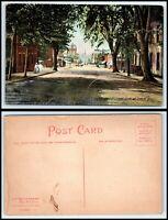 OHIO Postcard - Mt. Vernon, Main Street Looking South G52