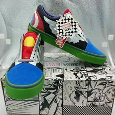 Vans x Marvel Avengers Old Skool size 7 Captain America Limited Edition Rare