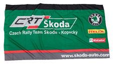 Flag Czech Rally Team Motorsport SKODA Kopecky Auto Rallycross