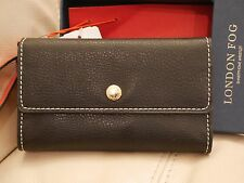 NEW London Fog ALICE WRISTLET BLACK RED Smartphone Wristlet Boxed $85 LF6595-001