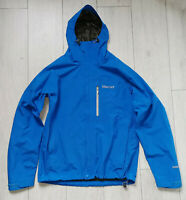 "Marmot Gore-tex Paclite Jacket ""M"" Blue Mens Hooded Jacke"
