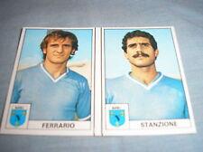 EDIS CALCIATORI 1977-78 NAPOLI FERRARIO STANZIONE #253 254 VELINA NUOVA CARD