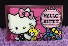 New Cute HELLO KITTY Card Memo Note Pad Message 8 Design Beautiful Gift Set 16pc