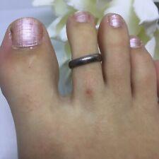925 sterling silver adjustable toe ring Simple Minimal