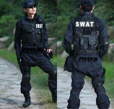 Men's SWAT Airsoft Tactical Vest Hunting Combat Vest  Sport Hunting Vest Black