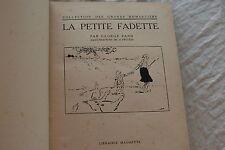 LA PETITE FADETTE PAR GEORGE SAND ILLUSTRATION DE A. PECOUD