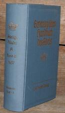 1957 Genealogie Genealogisches Handbuch der adeligen Häuser A 3