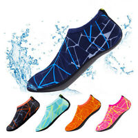 Unisex Adult Kids Barefoot Water Skin Shoes Socks Beach Swim Surf Yoga FJP