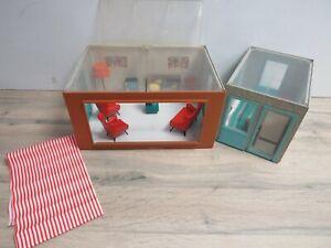 Vintage 1960s Triang Jennys Home Doll's House Lounge & Study Piano Bundle Set
