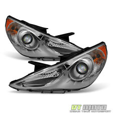 For 2011 2012 2013 2014 Sonata GLS Headlights Headlamps Replacement Left+Right