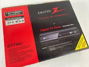 Zenith Digital TV Tuner Converter Box DTT901