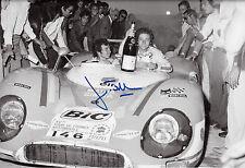 Jean Todt signé 12x8 MATRA avec Jean Pierre Beltoise, Tour de France 1970