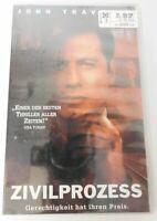 VHS Kassette * John Travolta - Zivilprozess * OVP