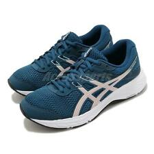 Asics Gel-Contend 6 Blue Ginger Peach Pink White Women Running Shoe 1012A570-401