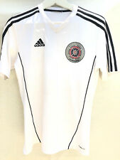 Adidas Chicago Fire juniors  soccer White Jersey Size M No 25