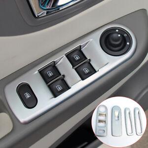 For Renault Captur ABS Matte 4* Door Armrest Window Lift Cover Trim 2013 - 2015