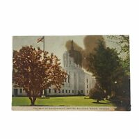 Vintage Postcard Capitol Building Salem Oregon The Seat of Government (Unposted)