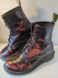 Dr Martens 1460 Uk Size 7 Cherry Red Oxblood