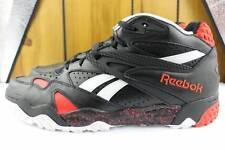 REEBOK SCRIMMAGE MID 248119 MEN Size: 10.0 BLACK NEW BASKETBALL