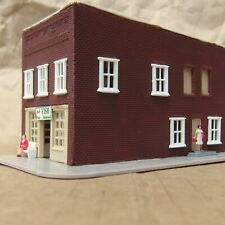RETIRED ~ FISH SHOP RESTAURANT by WALTHERS  ~ Mayhayred Trains N Scale Lot