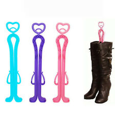 Plastic Boots Shaper Supporter Holder Shoe Storage Hanger Random color Durable