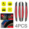 4pcs Car Door Open Reflective Sticker Tape Decal Safety Warning Red New