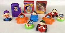 Vintage 90's LOT of 11 BOBBY'S WORLD Fast Food Mcdonalds DQ Fun Toys Lot 4