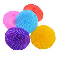 Shampoo Scalp Shower Body Washing Hair Massage Brush Massager Silicone Comb New