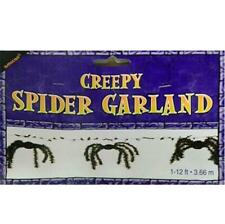 Halloween Creepy Spider Garland Horror Hanging Party Deco Supplies Accessory