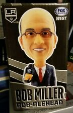 2018 Bob Miller Los Angeles Kings HOF Announcer Bobblehead Bobble SGA 1/13