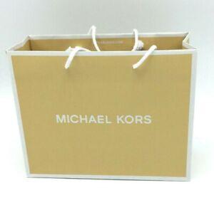 "New Michael Kors Retail Shopping Gift Bags SMALL 8 H x 10 W x  4"" L"