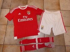 Adidas BENEFICA Official Portugal Full Football Kit Shirt Shorts 13-14 Yrs