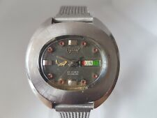 Vintage 1970's Swiss Made Gents Ogival 25 Jewel ETA 2788 Automatic 5ATM Day Date