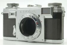 *Exc+5* Zeiss Ikon Contax IIa Rangefinder Black Dial 35mm Film Camera from JAPAN
