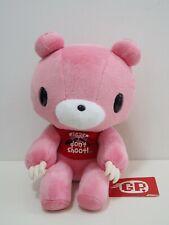 """Gloomy Bear Pink GP Mori Chack CHAX CGP-068 Taito 11"""" Plush TAG Toy Doll Japan"""