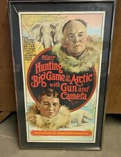 H.A. Snow - Hunting Big Game in the Arctic With Gun and Camera Movie Film Poster