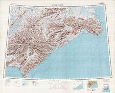 Russian Soviet Military Topographic Maps - BERINGOVSKIY (Russia) 1:1Mio, ed.1956