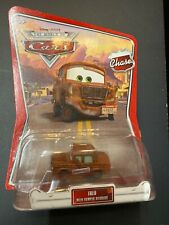 DISNEY PIXAR the world of Chase CARS FRED With BUMPER STICKERS