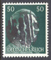 GERMANY 521 LOCAL SCHWÄRZUNGEN ADELSBERG C1 OVERPRINT OG NH U/M VF SIGNED