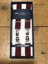 Albert Thurston® 25mm Clip Braces - Wine