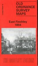 HIGHLY DETAILED ORDNANCE SURVEY MAP EAST FINCHLEY 1894 WITH FREE UK P&P