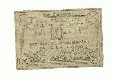 Philippines Emergency Guerrilla Currency Jagna Ten Centavos - # 090502